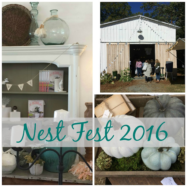 A recap of my visit to the white barn at Nest Fest 2016