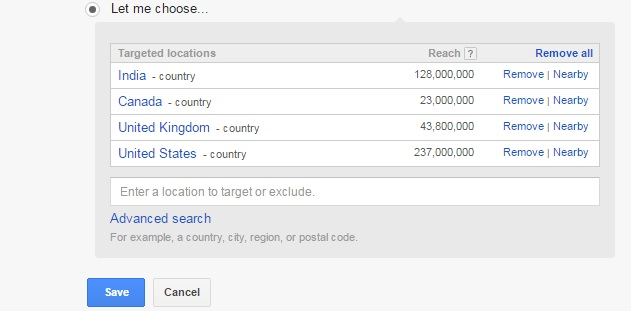 Google-keyword-planner-targeted-country