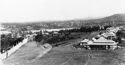 View of Brisbane River from Highgate Hill, 1902 (John Oxley Library)