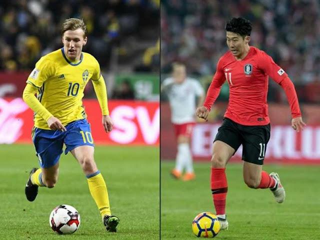 Sweden vs Korea Republic 12th FIFA WORLD CUP 2018  Predictions & Betting Tips, FIFA WORLD CUP 2018 Today Match Predictions