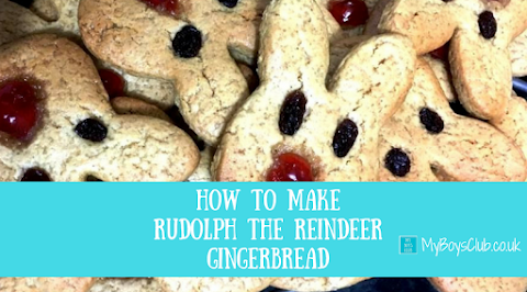 How to Make Rudolph the Reindeer Gingerbread for Christmas