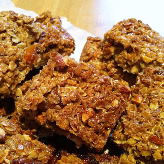 Apricot and Almond Flapjack Recipe