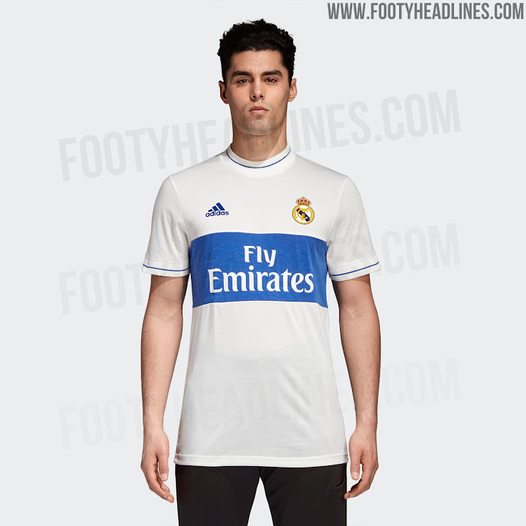 9af5a0f8ef7 Insane Price  Adidas Real Madrid Icon Jersey Released - Footy Headlines