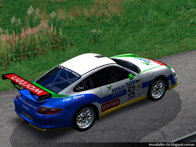 Porsche 911 GT3 Enrique Cruz