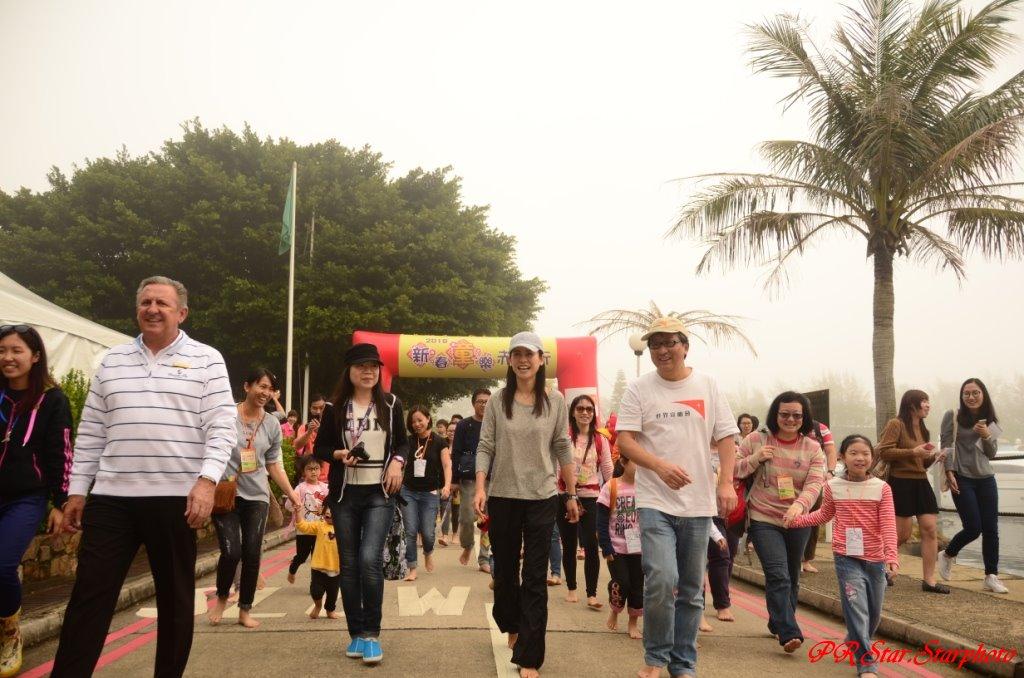 Star.Starphoto,Jolly的今日星蹤: 近1,800名市民參加「新春『童』樂赤腳行」