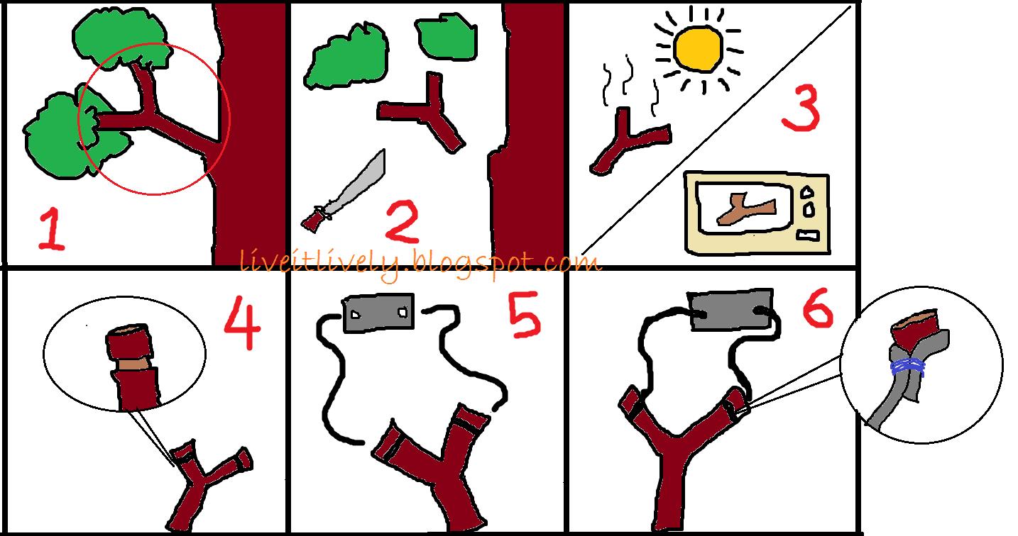 how to make lastik   slingshot in six simple steps! d2de70e65