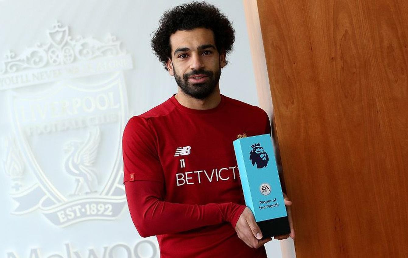 محمد صلاح أفضل لاعب في الدوري الانكليزي الممتاز لشهر نوفمبر