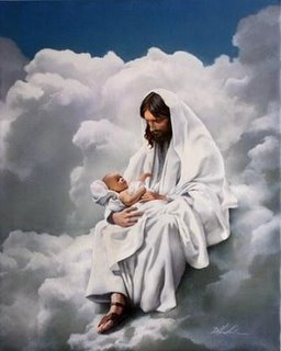 Conversación  de un niño con Dios antes de nacer