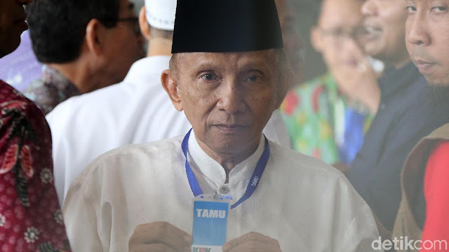 Soal Jokowi Pokoknya Kalah, PAN: Itu Doa Pak Amien Rais