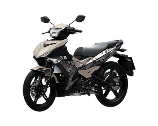 Yamaha Exciter 150 Camouflage Brown 2015