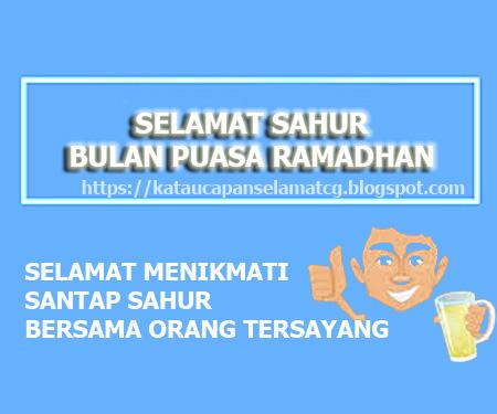 Kata Ucapan Selamat Sahur Ramadhan Terbaru Kata Ucapan Selamat