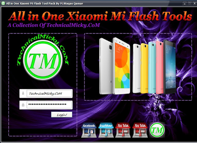 Xiaomi Mi Flashing Tools Pack Free Download