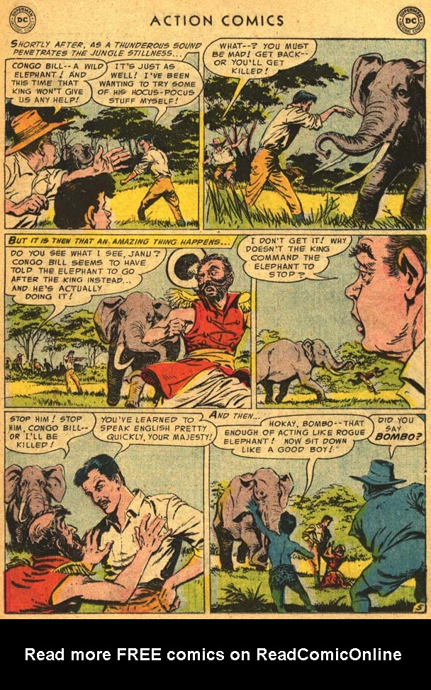 Read online Action Comics (1938) comic -  Issue #210 - 23