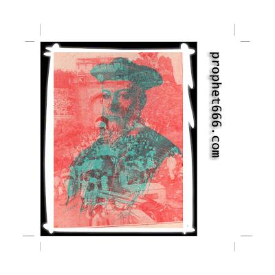 Nostradamus visualizing Indian Revolution in 3D