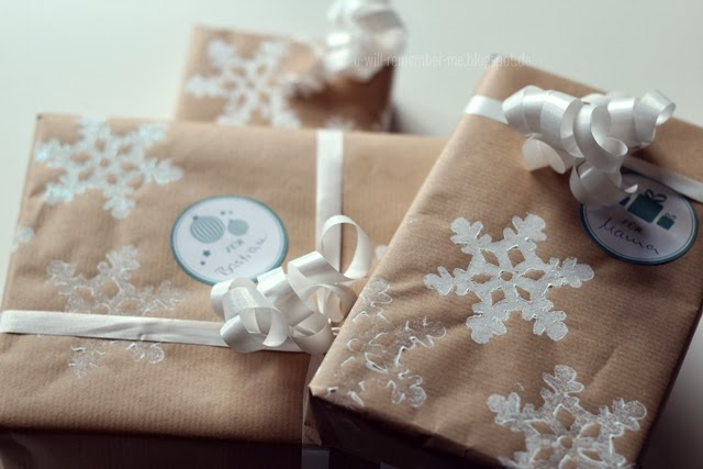 diy selbst bedrucktes geschenkpapier you will. Black Bedroom Furniture Sets. Home Design Ideas