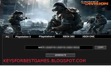 tom clancys the division activation key
