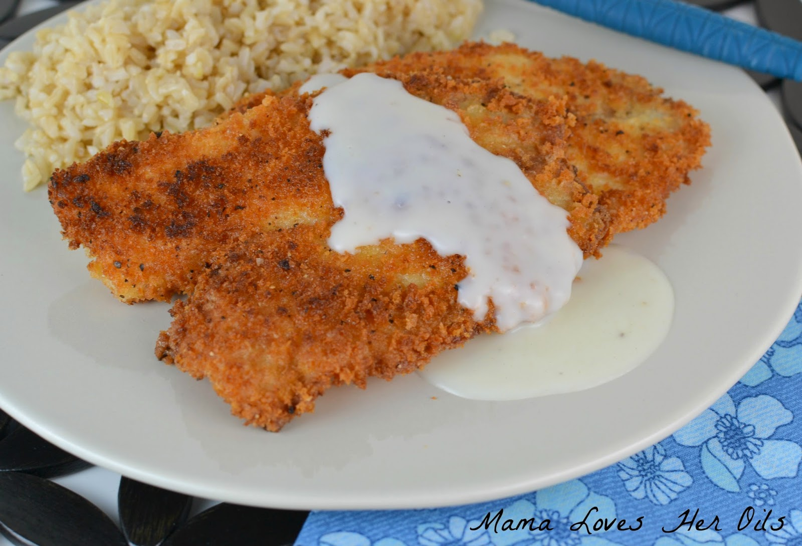 Perfectly fried tilapia with an amazing Young Living Lemon Essential Oil sauce! Great for weeknight dinners! Pan Fried Tilapia with Young Living Essential Oil Lemon Cream Sauce from Mama Loves Her Oils!