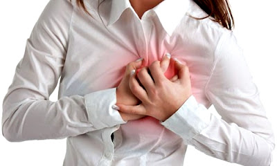 Infarto corazón miocardio mujer