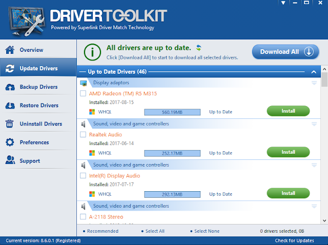 Chia sẻ DriverToolkit full key bản quyền trọn đời 2019