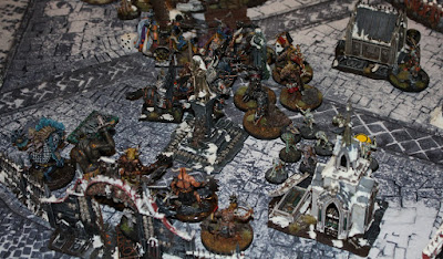 Age of Sigmar battle report: 'War of Storms' between Flesh-Eater Courts and Disciples of Tzeentch.