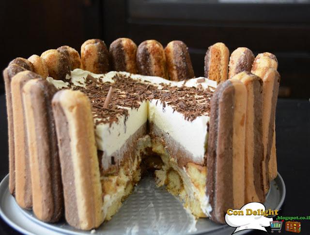 Divine Tiramisu cake עוגת טירמיסו מדהימה