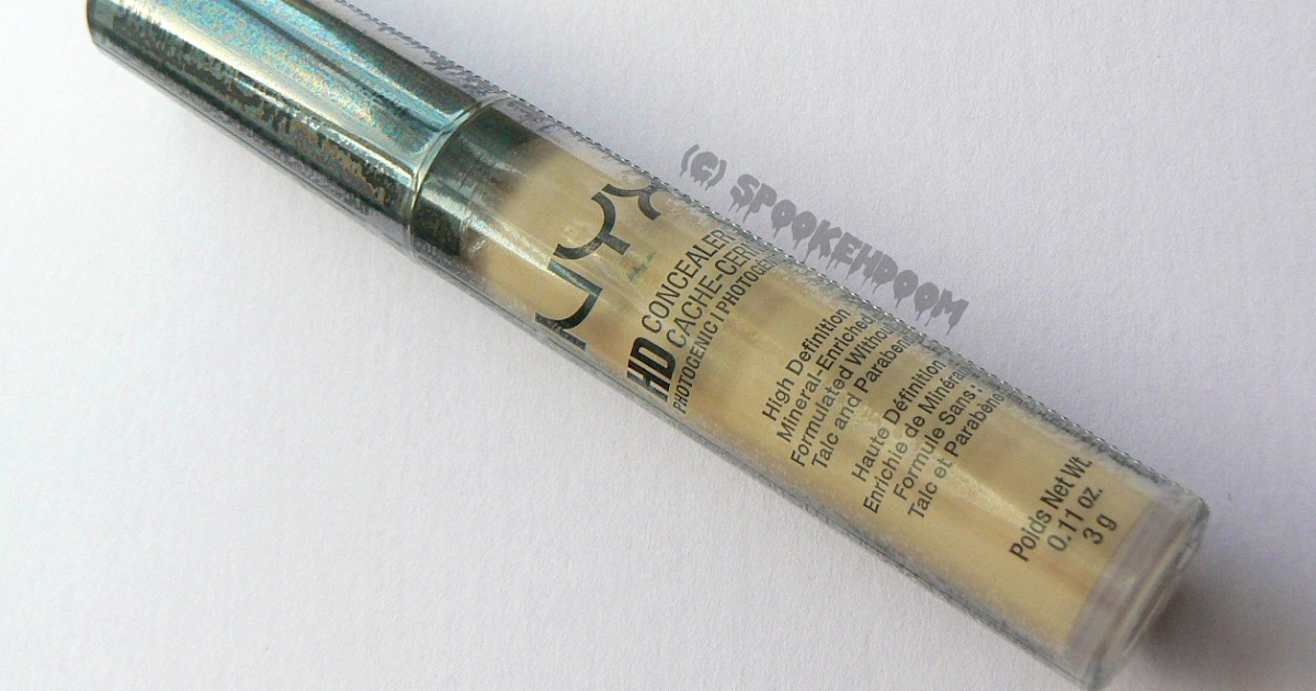 SPOOKEHDOOM: Review: NYX HD Photogenic Concealer in Beige