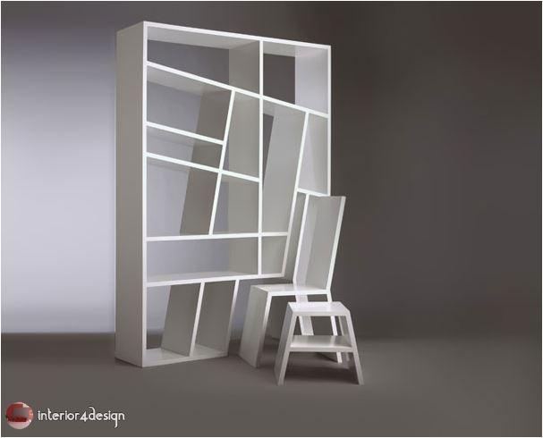 70 Best Bookshelf Designs 40