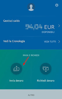 Invia app paypal
