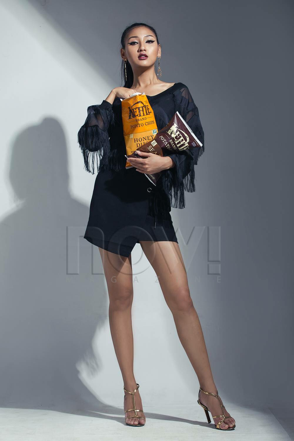 M Seng Lu - Now Magazine Cover Photoshoot and Interview