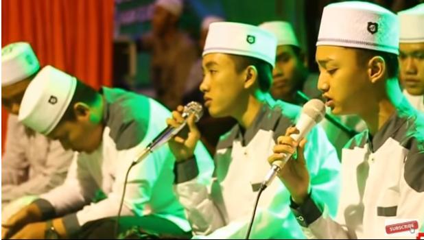 """Lirik Sholawat """"SURAT CINTA UNTUK NABI"""" Syubbanul Muslimin"""