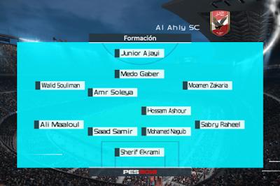 PES 6 EgyFire Patch v3 Season 2017/2018