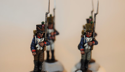 French Napoleonic Line Infantry - 4 down, heaven knows how many to go!