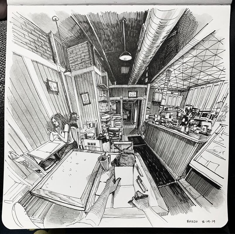 02-Paul-Heaston-Moleskine-Urban-Drawings-with-a-Point-of-View-www-designstack-co