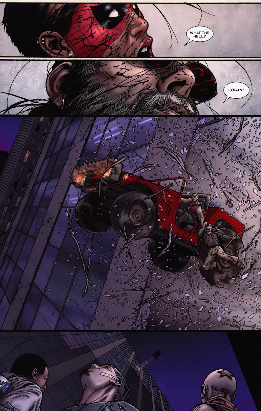 Read online Wolverine (2003) comic -  Issue #69 - 4