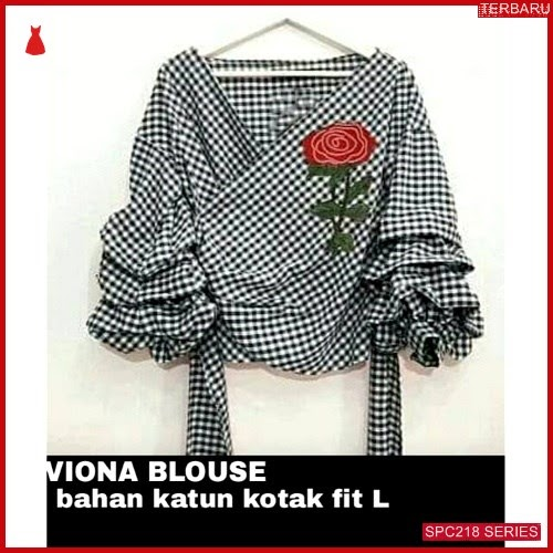 SPC218V57 Viona Blouse Terbaru Atasan Wanita | BMGShop