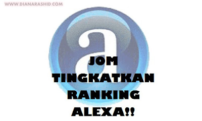 JOM TINGKATKAN RANKING ALEXA