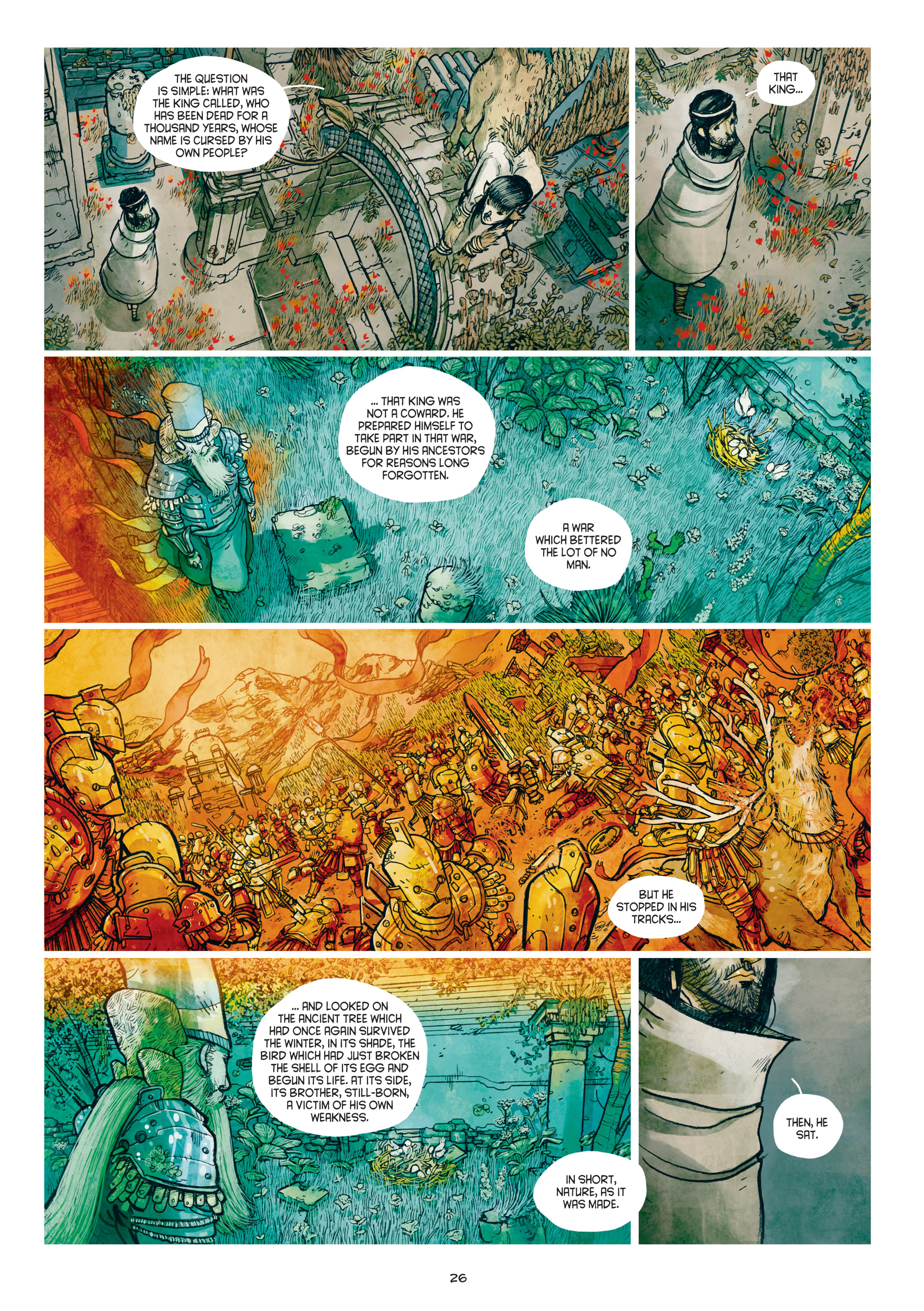 Read online Adrastée comic -  Issue #1 - 27