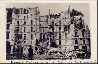tricolore bombardamenti WWII milano 1942 ottobre