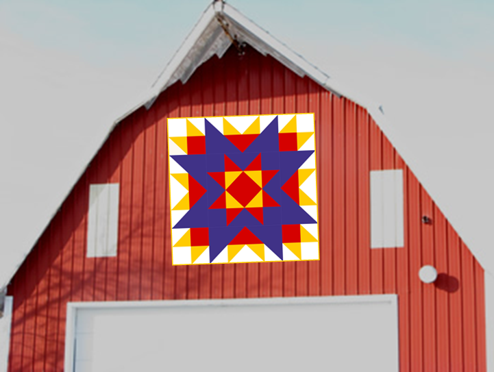 Quiltscapes Made It To Accuquilts Top 100 Barn Quilt Designs