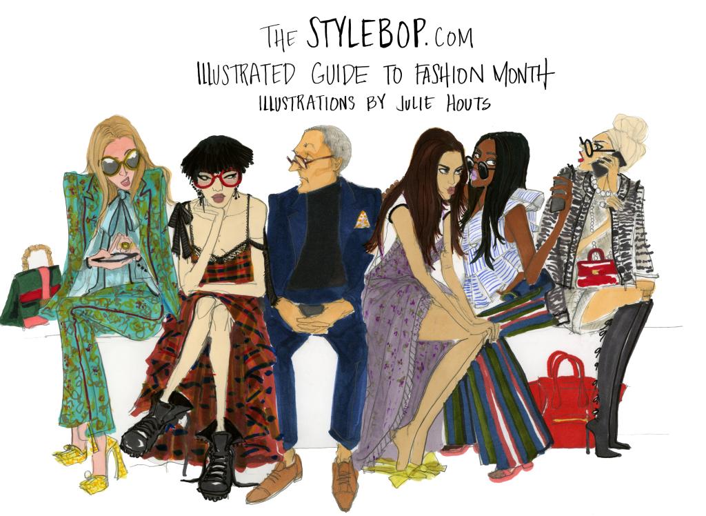 abbastanza Sfilate di moda: 13 illustrazioni raccontano la follia della New  TF77
