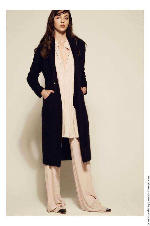 Tapados invierno 2016 moda invierno 2016.