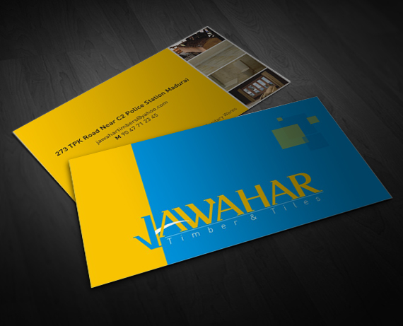 Business Card For Hardware Stores