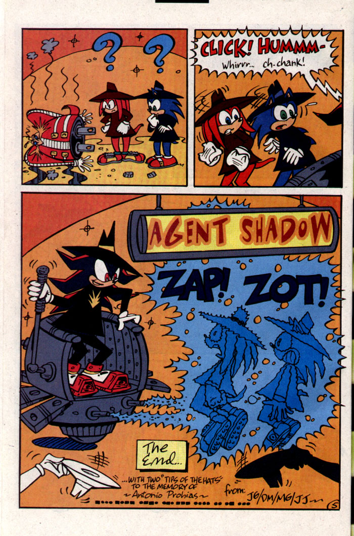 Read online Sonic The Hedgehog comic -  Issue #127 - 23