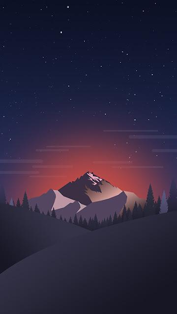 Mountain Stock Wallpaper iPhone 7 Plus