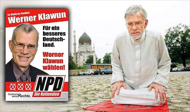 Tersentuh Mendengar Puisi Tentang Nabi Muhammad, Politikus Jerman Anti-Pengungsi Ini Masuk Islam