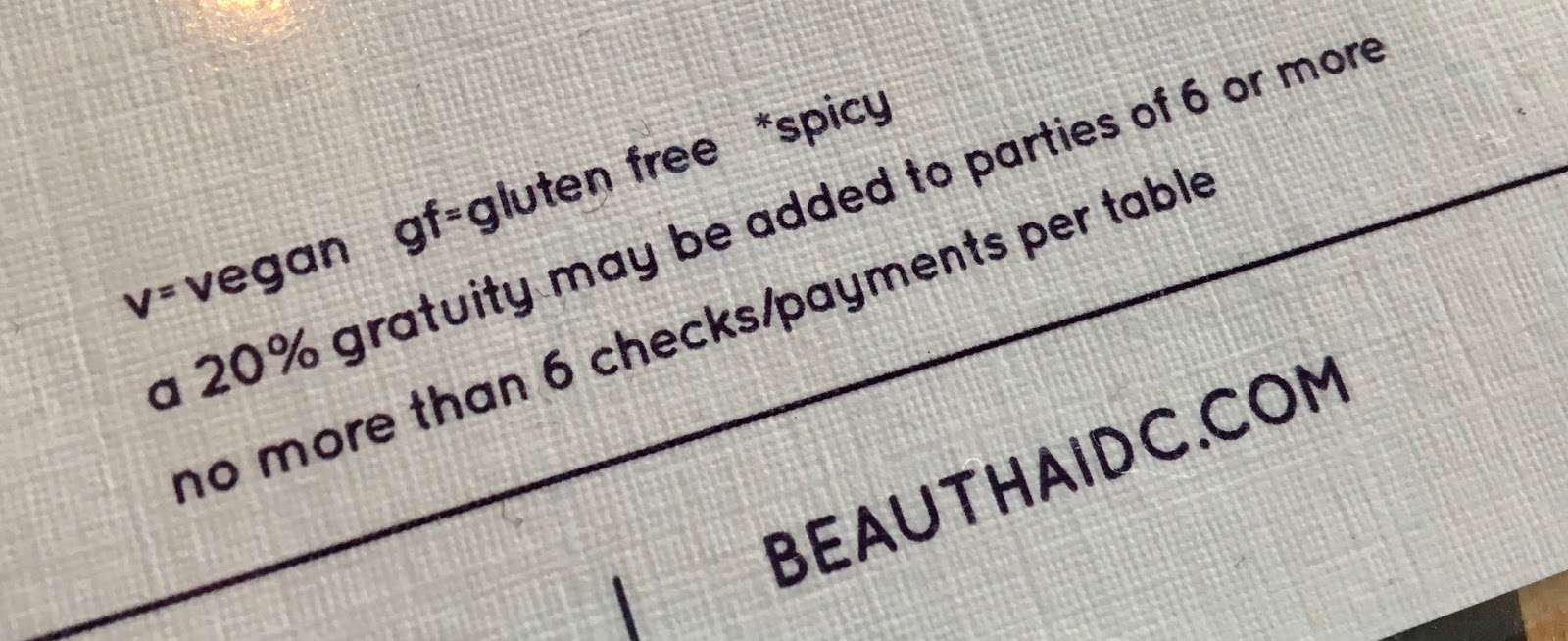 The Gluten & Dairy-Free Review Blog: Beau Thai Review