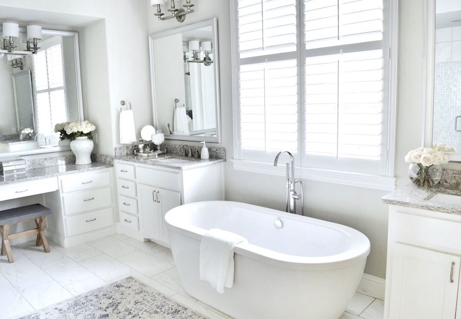 Baño luxury decoración