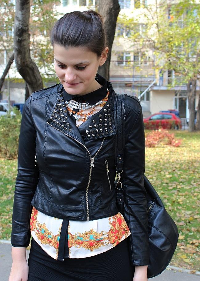 bfb06e3768 Scarf shirt and bandage skirt | Pop Culture And Fashion Magic ...
