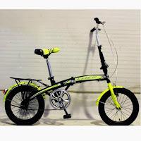 16 genio click folding bike