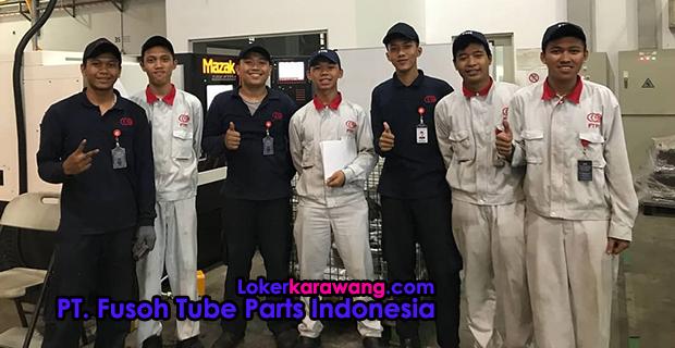 Lowongan Kerja PT. Fusoh Tube Parts Indonesia (PT. FTPI) Cikarang Bekasi